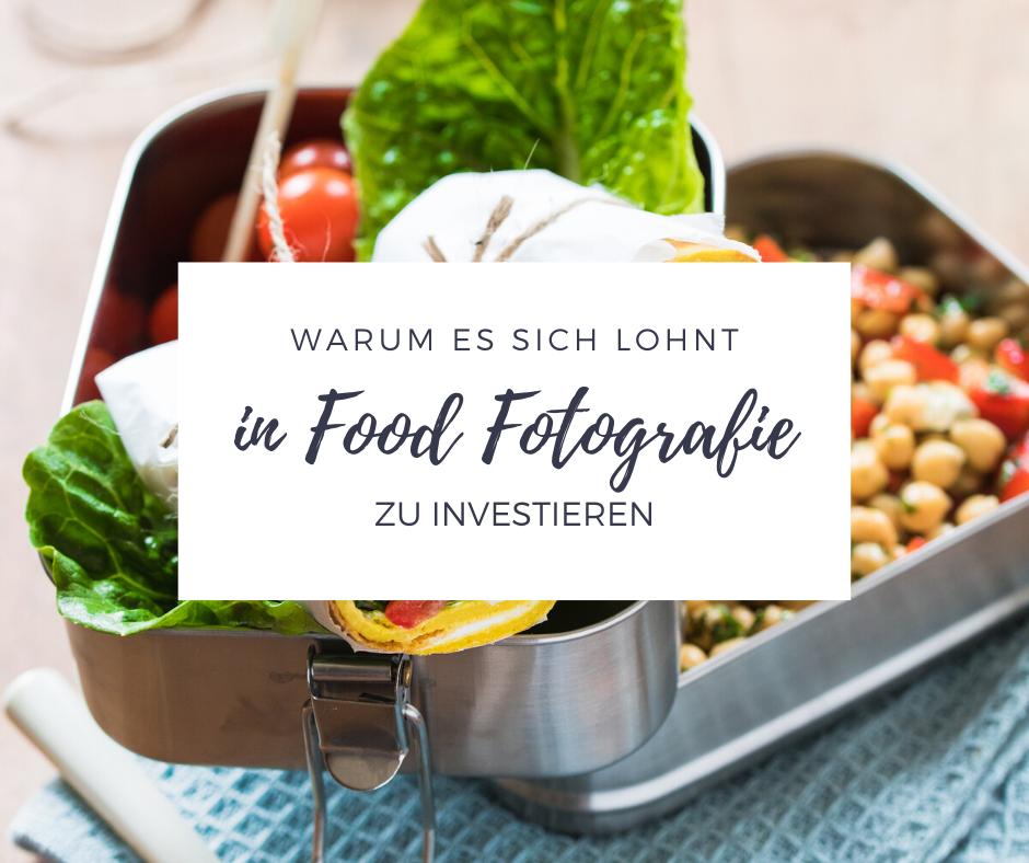 In diesem Artikel erfährst Du, warum es sich lohnt, in gute Food Fotografie zu investieren.
